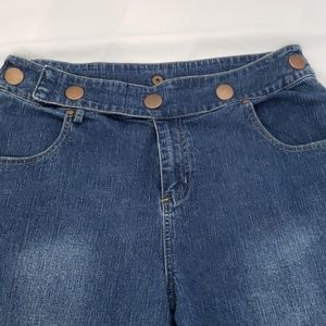 Baccini brand capri jeans